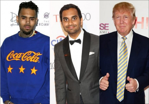 Chris Brown Reacts To Ansari Aziz Comparing Him To Donald Trump