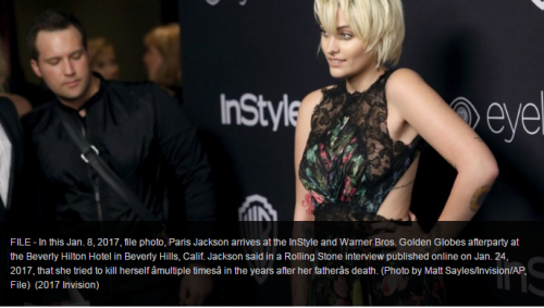 I Tried To Commit Suicide Multiple Times Says Paris Jackson Also Opens Up About Her Father's Death