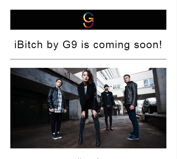 Coming soon- iBITCH By G9 [Teaser Available]