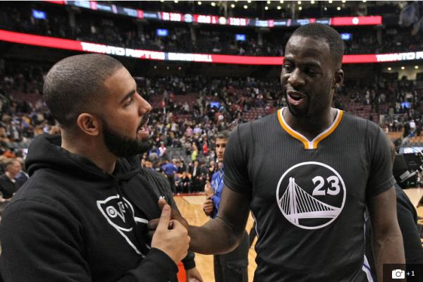 Drake & Draymond Green Mock Each Other In Friendly Instagram Feud
