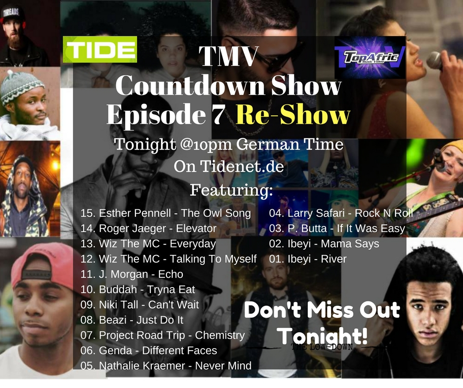 TMV Countdown Show Episode 7 Re-Show And Opportunities (Get Listed on The Next Show Ep7)