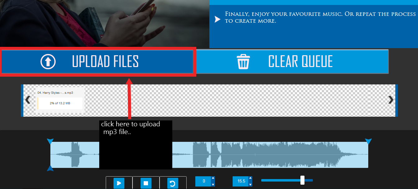 How To Create Custom Ringtones Online Using Using Free Ringtone Maker