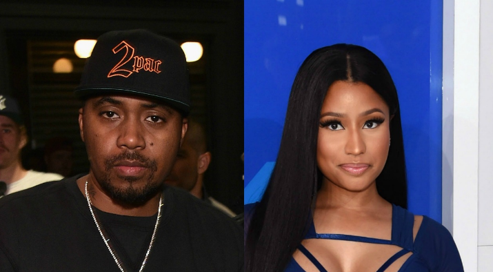 Nicki Minaj Reunites With Nas At Rap Legend's Birthday Party