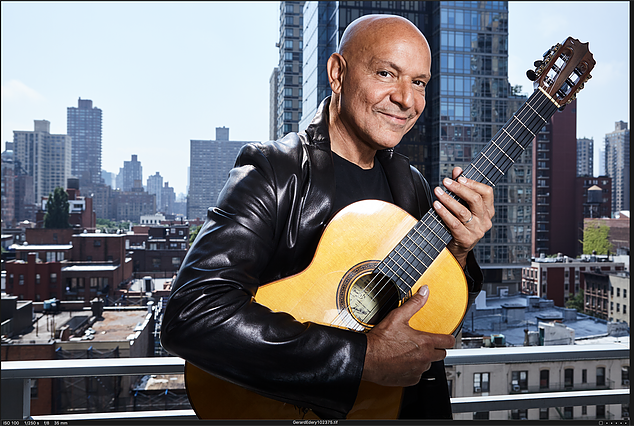 """World Music Star GERARD EDERY releases his critically acclaimed double album """"Best of Gerard Edery"""" in America."""