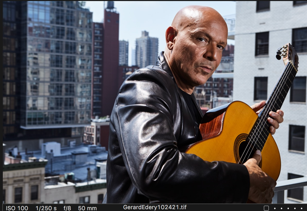 Getting to Know  GERARD EDERY