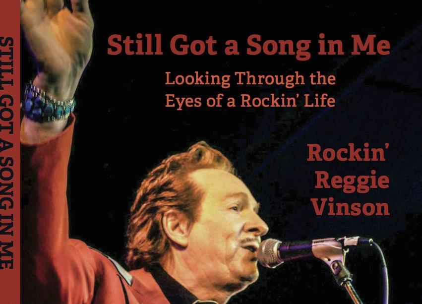 """Rockin' Reggie Vinson Releases A Book"