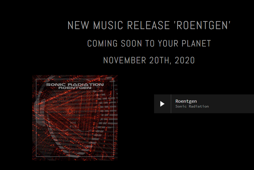 Sonic Radiation's Roentgen is Out of This World